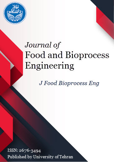 Journal of Food and Bioprocess Engineering